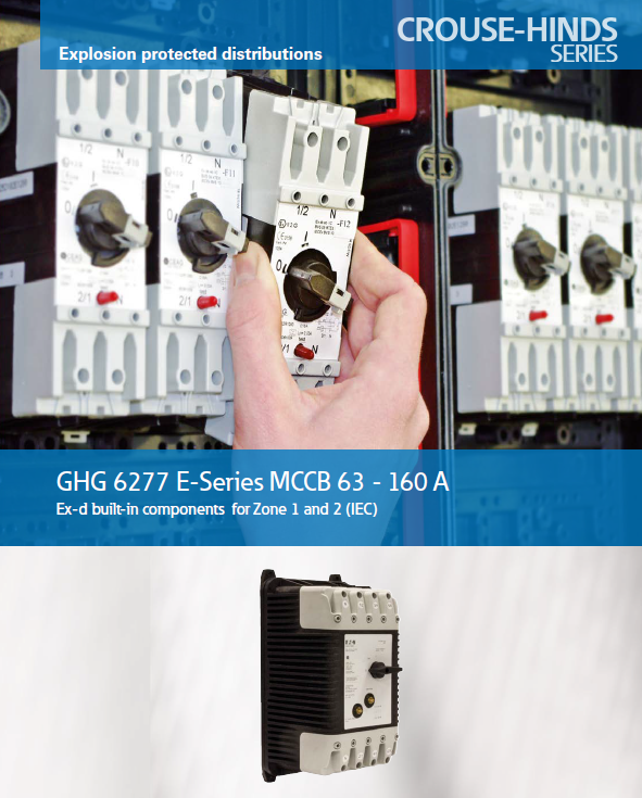 Catálogo MCCB GHG 6277 from 63 A up to 160 A- 3-pole &4-pole